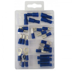 Wiring Connectors Blue Insulated Pack of 30-10