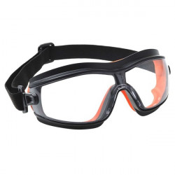 Slim Safety Goggles Clear-10