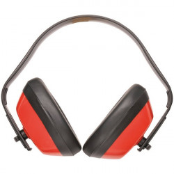 Classic Ear Defenders Red-10