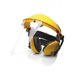 PPE Safety Protector Kit Clear Visor-10