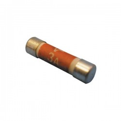 Fuses Household Mains 3A Pack Of 3-10