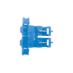 Fuse Holder Self Stripping Blade Type Blue-10