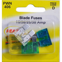 Fuses Standard Blade Assorted Pack Of 4 (15A/20A/25A/30A)-10
