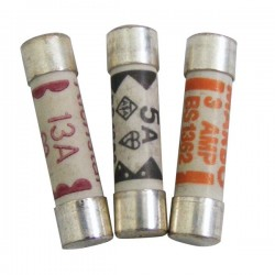 Fuses Household Mains Assorted Pack Of 4-10