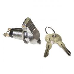 Alarm Key Switch Chrome-10