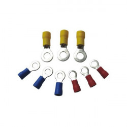 Wiring Connectors Yellow Ring 8mm Pack of 25-10