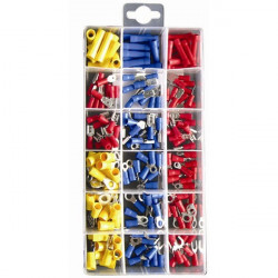 Wiring Connectors Crimp Type Assorted Pack of 180-10