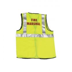 Hi-Vis Fire Marshall Waistcoat L/XL-10