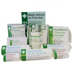 PCV Travel First Aid Kit Refill-10