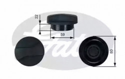Coolant Tank Cap GATES RC245-10