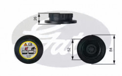 Coolant Tank Cap GATES RC246-10