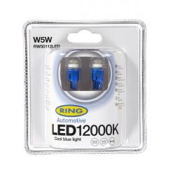 LED Bulb 12V W5W 12000K-LED Blue-10