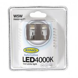 LED Bulb 12V W5W 4000K-LED White-10