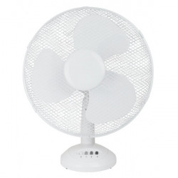 3 Speed Oscillating Desk Fan 12in.-10