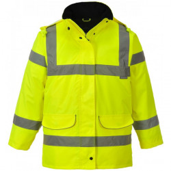 Hi-Vis Ladies Traffic Jacket Yellow Large-10