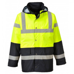 Hi-Vis Contrast Traffic Jacket Yellow/Black Medium-10