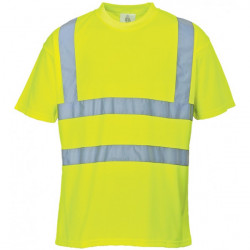 Hi-Vis T-Shirt Yellow Large-10