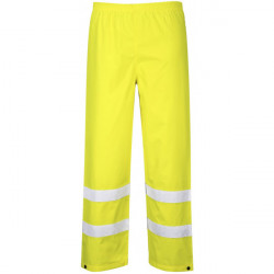 Hi-Vis Traffic Trousers Yellow Small-10