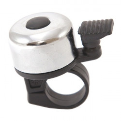 Mini Ping Cycle Racing Bell Silver-10