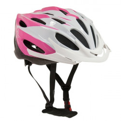 Comp Team Junior Pink and White Cycle Helmet 52-56cm-10