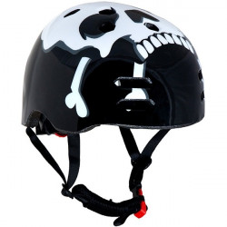 The Skull Black BMX Helmet 56-58cm-10