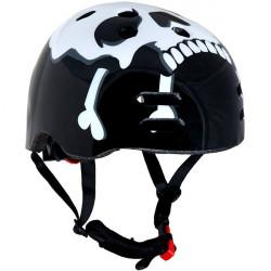 The Skull Black BMX Helmet 56-58cm-10