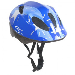 Silver Stars Junior Blue Cycle Helmet 48-52cm-10
