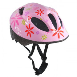 Pink Flower Junior Pink Cycle Helmet 48-52cm-10