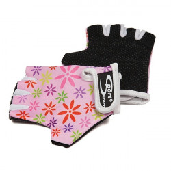 Junior Cycle Track Mitts Pink Extra Small-10