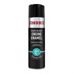 Black Gloss Engine Enamel 500ml-10