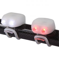 MegaMini Twin LED Silicone Cycle Light Set White-10