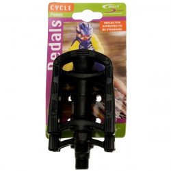 Junior Resin Cycle Pedals 9/16 Inch-10