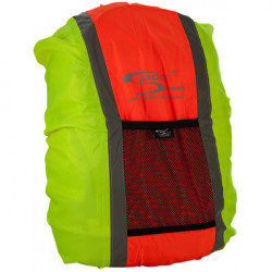 Hi-Vis Reflective Rucksack Cover Yellow and Orange-10