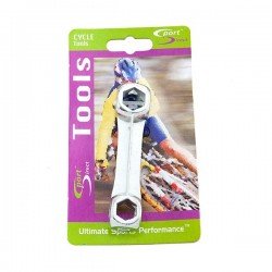 Cycle Dumbell Spanner 10 in 1-10