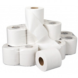 2 Ply White Toilet Rolls 36 Rolls of 200 Sheets-10