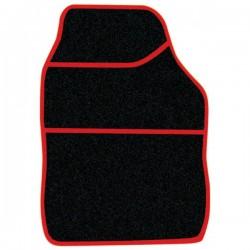 Standard Universal Mat Set Velour Black/Red 4 Piece-10