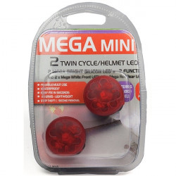 MegaMini LED Twin Cycle/Helmet Light Set-10