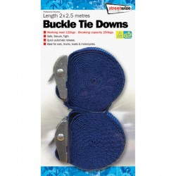 Buckle Straps 2.5m Pack Of 2-10