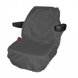 Tractor Seat Cover Large Grey-10