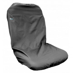 Tractor Seat Cover High Back Universal Black-10