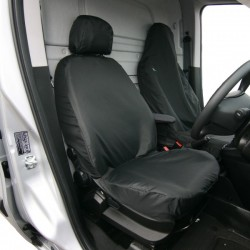 Van Seat Cover Front Single Black Fiorino, Nemo, Bipper, Doblo and Combo-10