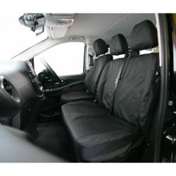 Van Seat Cover Front Single Mercedes Vito-10