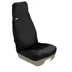 Technicians Seat Cover Single Black-10