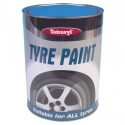 CarPlan Tyre Paint Black 5 Litre-10