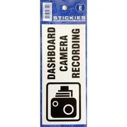 Outdoor Vinyl Sticker Blue Dashboard Camera Recording-10