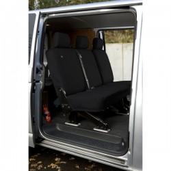 Van Seat Cover Optional Second Row Set Black Volkswagen Transporter 5-10