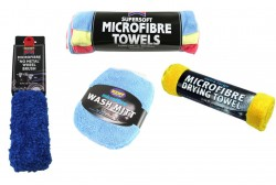 Car Wash Pack with Microfibre Towels, Wash Mitt and Wheel Brush-11