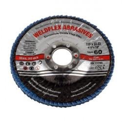 Zirconium Flap Disc 115mm 60 Grit-10