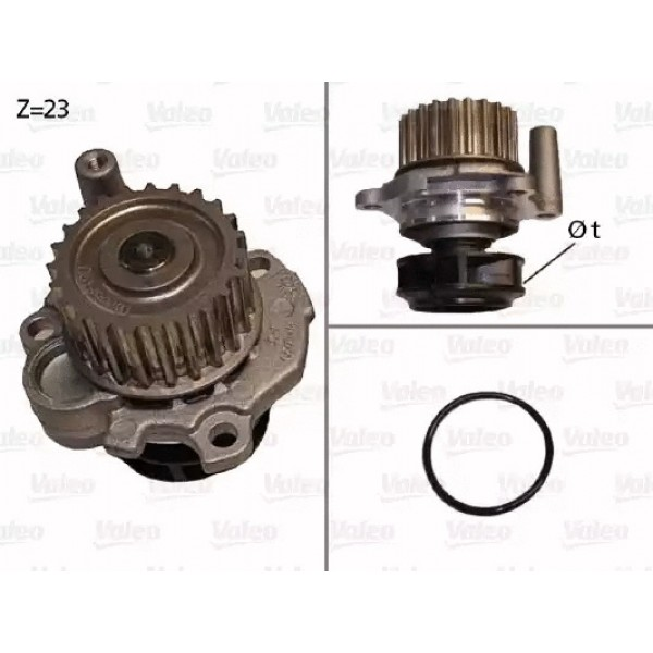Water Pump VALEO 506532-00