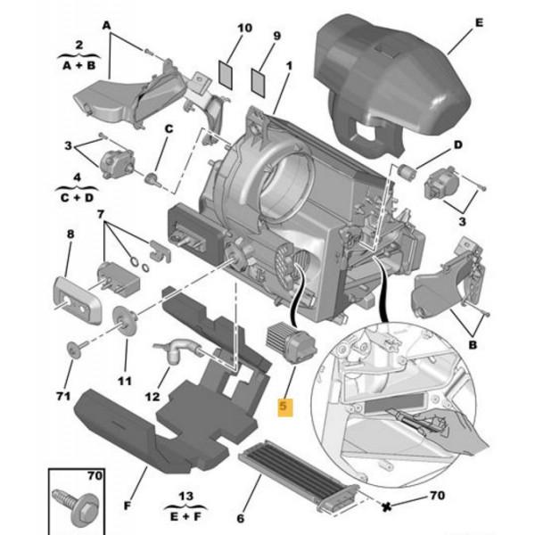 Heater//Blower Fan Motor Resistor For Citroen C3 C4 C5 C6 DS3 6441S7 6441.S7 UK